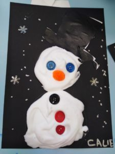 De drôles de bonhommes de neige !