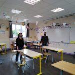La classe d'Hélène et Vincent